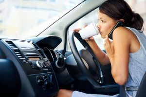 What Actions Attribute to Distracted Driving